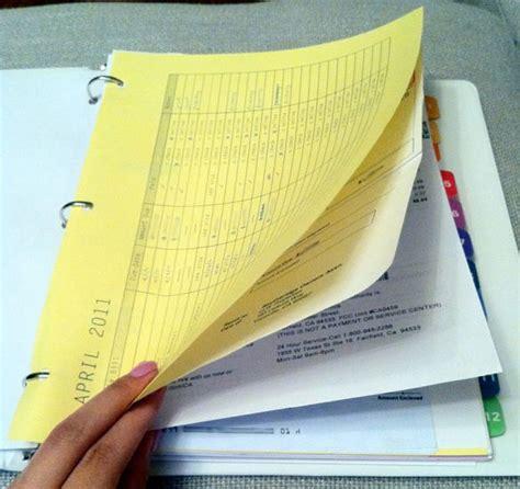 organize bills bill organizing binder diy pinterest