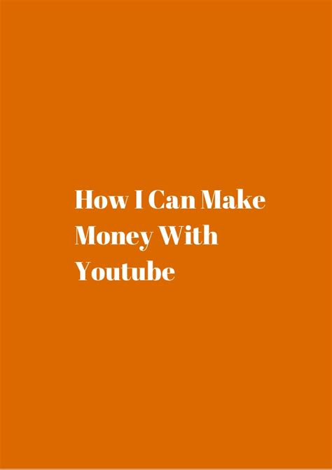 make money with youtube how i made an extra 1 187 66 how i can make money with youtube