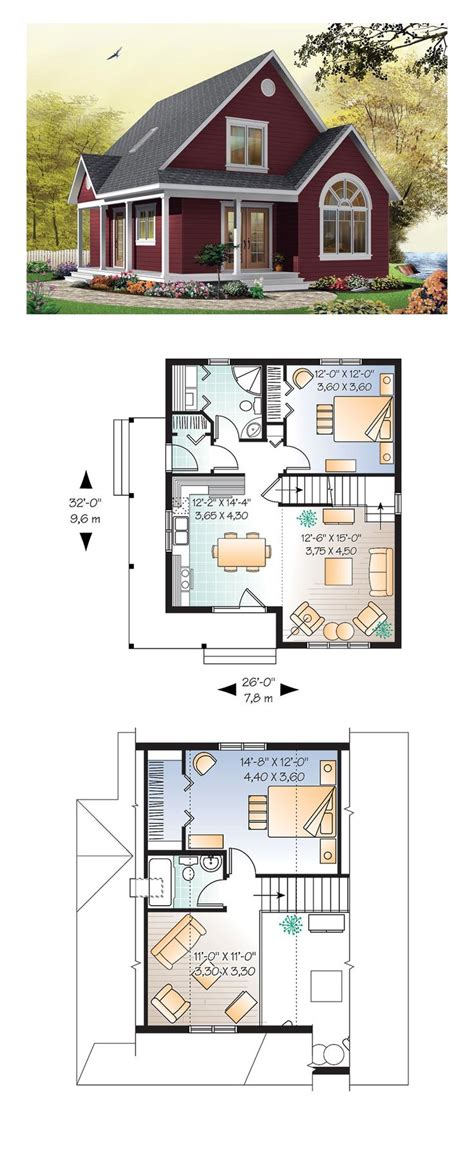 cottage floor plan best 25 small homes ideas on small home plans