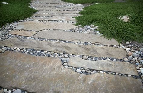 large flagstone slabs landscaping network