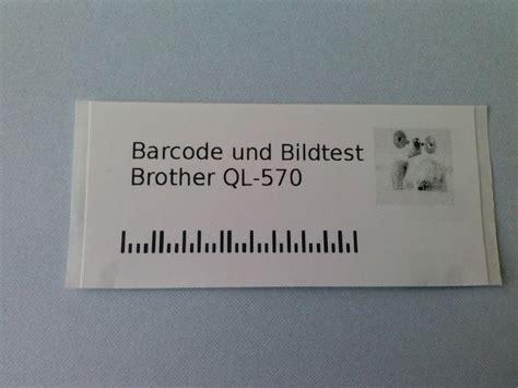 Etiketten Ql 570 by Etikettendruck Mit Dem Ql570 Unter Ubuntu Linux