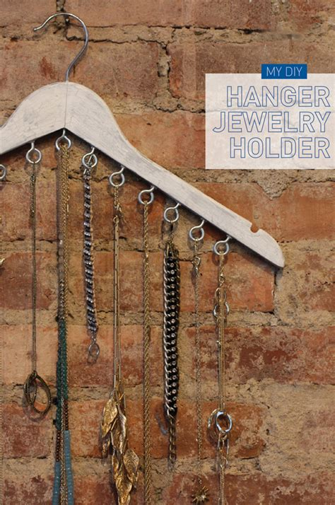 How To Make A Hanger Holder - top 5 diy jewelry holders m j