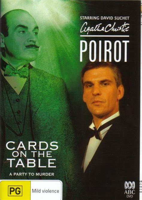 cards on the table agatha christie poirot cards on the table 2005