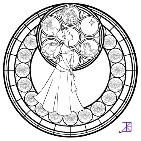 kingdom hearts coloring pages stained glass stained glass window coloring pages coloring home