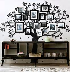 i this family tree wall decal photo frame tree by