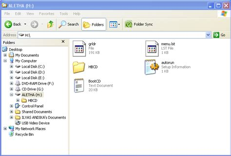 Membuat File Iso Hiren | cara membuat bootable quot hiren sbootcd 9 8 quot pada flashdisk