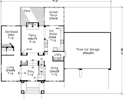 the simpsons house floor plan the simpson 1234 4 bedrooms and 2 baths the house designers