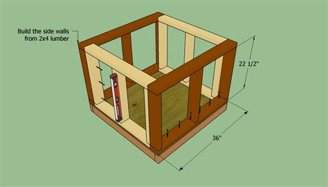 how to build a insulated dog house how to build an insulated dog house howtospecialist how to build step by step diy