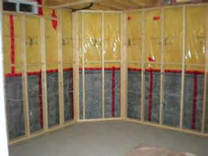insulating a basement wall basement basement insulation