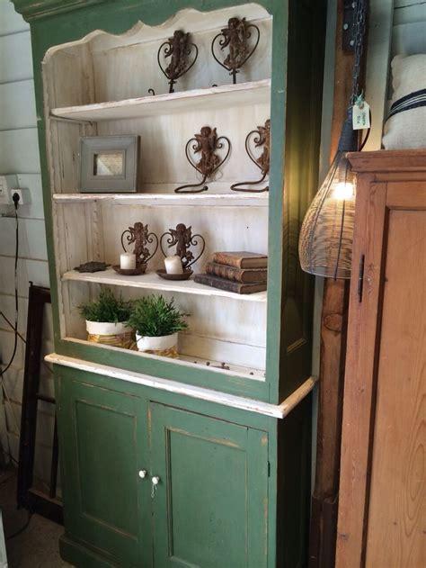 alacenas images  pinterest refurbished furniture cupboard shelves  green