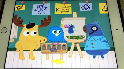 nick jr painting free noggin nick jr henrietta s painting 2008 2009 2009 2012