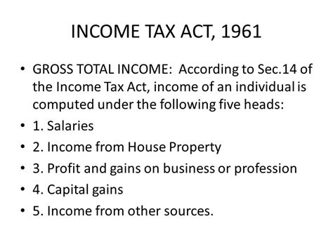 section 5 of income tax act tax laws by prof cma cs v n parthiban ficwa acs