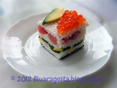 come si cucina l aragosta surgelata aragosta mini sushi cake