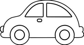 car outline templates car outline coloring pages