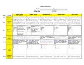 weekly lesson plan template excel best photos of excel 2010 lesson plans basic excel