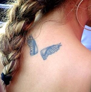 cute angel wings tattoo designs wing designs