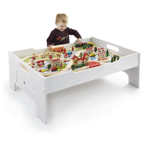 train set and table 80 pc deluxe train set and table 281679 toys at