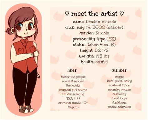 Meme Artist - meet the artist meme by fairypaws on deviantart