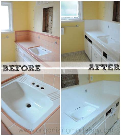 diy basement bathroom bathroom tile re glazed countertop sinks and bath