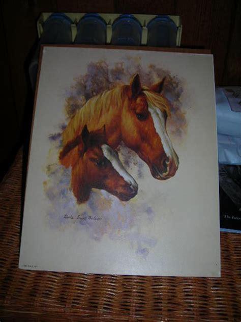 horse colt print signed  artistdoris scott