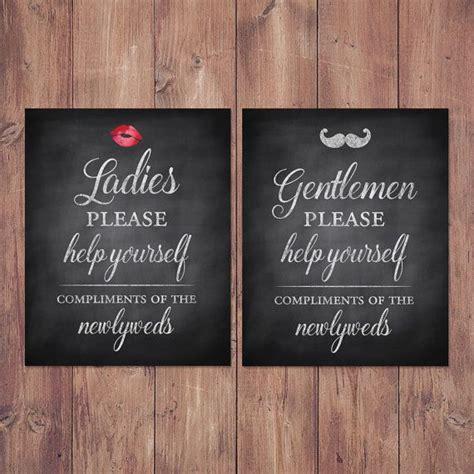 Wedding Bathroom Box by Best 25 Wedding Bathroom Signs Ideas On