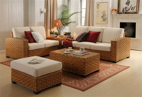 wicker living room sets tinoka living furniture singapore