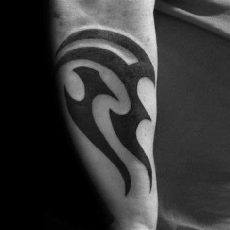 70 Aquarius Tattoos For Men Astrological Ink Design Ideas Bold Tribal Forearm