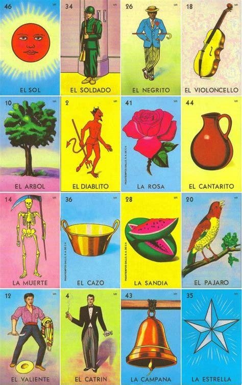 tablas de loteria mexicana para imprimir 17 b 228 sta bilder om mexico p 229 pinterest bingo