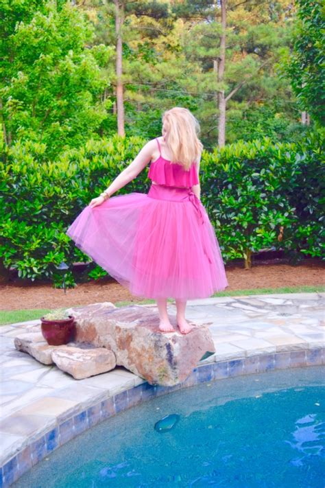poolside pink tutu and ruffles graham co