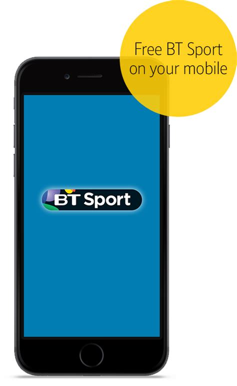 bt mobile get bt sport with your mobile plan bt mobile