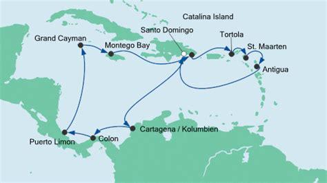 panoramakabine aidamar kreuzfahrt hafen montego bay jamaika seereisen