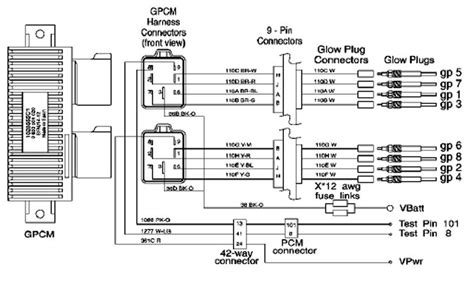 ford trucks glow relay wiring diagram ford free
