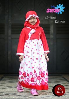 Baju Muslim Anak Bunga Blue Pakaian Anak Perempuan Baby Zenia Adalah Produsen Fashion Branded Bandung Jual