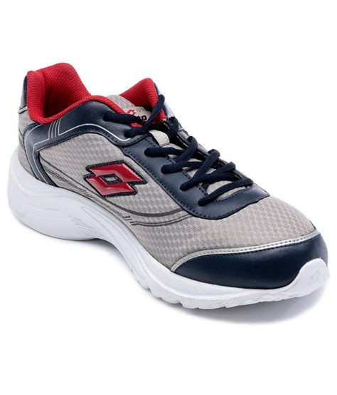 buy lotto gray sport shoes for snapdeal