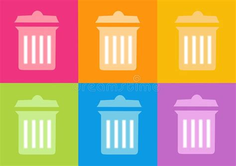 icona dei rifiuti illustrazione di stock illustrazione di