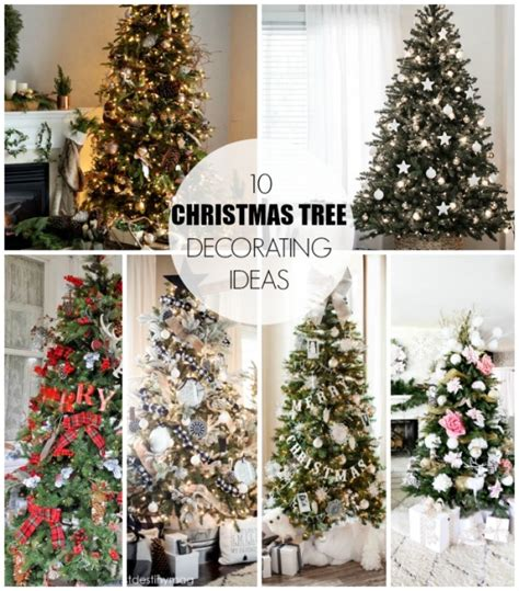 ideas for tree decorating 10 tree decorating ideas book design