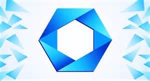 corel draw logo templates polygon logo design in corel draw