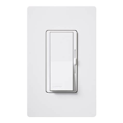 led light switch lutron dvcl 153p wh dimmable cfl led dimmer wall