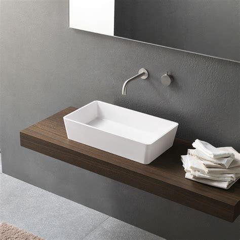 aufsatzwaschbecken rechteckig aufsatzwaschbecken rechteckig aus keramik novello