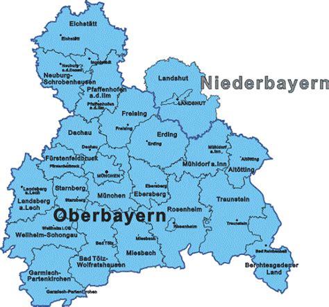 städtekarte deutschland plz oberbayern karte hanzeontwerpfabriek
