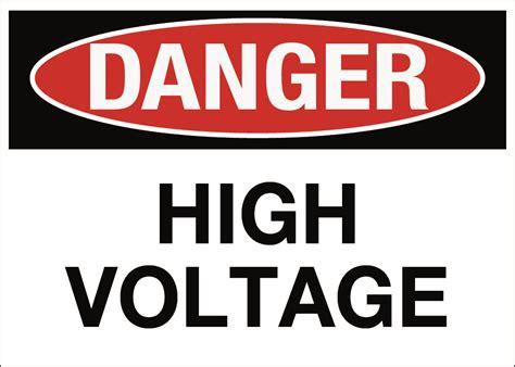 high voltage safety danger danger high voltage mazdamovement