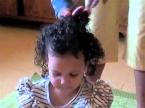 styling two year hair 203 styling mixed race curly kids hair with original