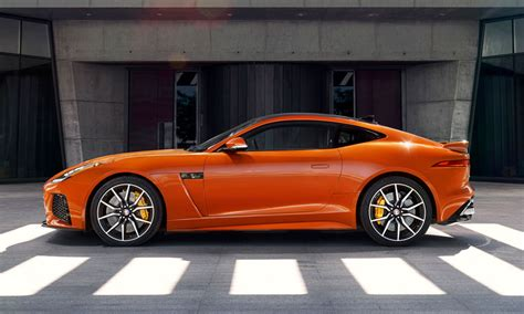 jaguar j type 2017 svr 575 hp f type is the fastest jaguar for 2017