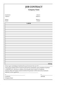construction template free 7 free construction contract templatereport template