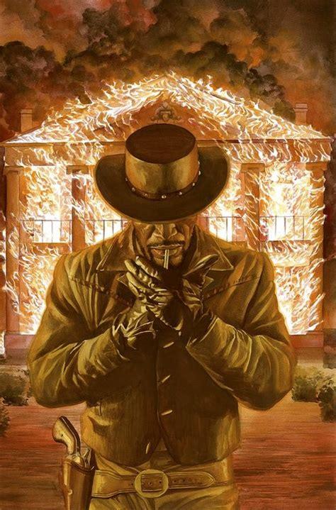 film cowboy tarantino in the mouth of dorkness dork art alex ross django