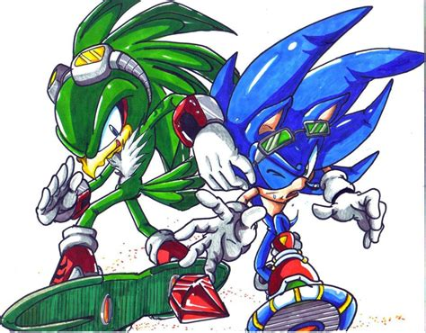 jet and sonic colored by trunks24 on deviantart