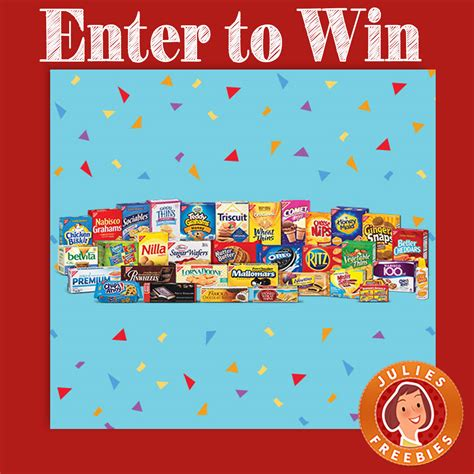 Nabisco Sweepstakes - nabisco 115 moments of joy sweepstakes julie s freebies