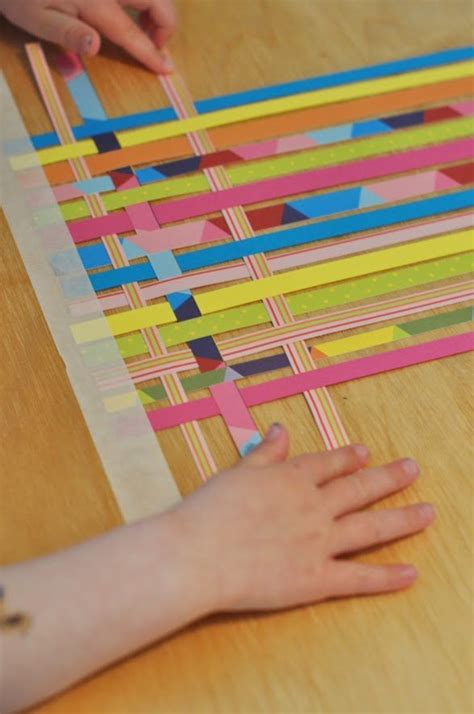 Paper Weaving Crafts - 25 best ideas about paper weaving on weaving