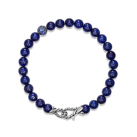 david yurman spiritual bead bracelet david yurman spiritual bracelet in blue lapis