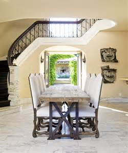 Dining Room At Entry Phenomenal Wrought Iron Entry Table Decorating Ideas